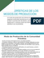 Los Modos de Producción