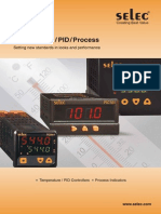 Selec Temperature controller Brochures
