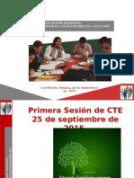 Presentacion CONSEJO TECNICO ESCOLAR 1ra. Sesion 2015