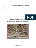 TEKTONSKA geomorfologija skripta