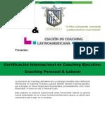 Certificación Coaching 2015