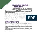 Sistema Juridico Romano