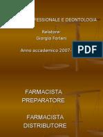 Pratica Professionale e Deontologia_Prof.forlani