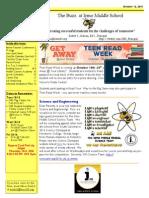 Newsletter 10-12-15