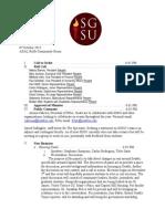 Week 3 Meeting Minutes, Fall 2015