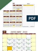 Jan2010 Calendar_PN Program