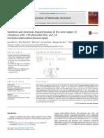 [Doi 10.1016%2Fj.molstruc.2014.12.068] J. Li; W. Fan; Min-liu; Y. Xiao; Q. Jin; Z. Li -- Synthesis and Structural Characterization of Five New Copper (I) Complexes With 1,10-Phenanthroline and 1,4-Bis (1)