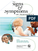 Signs & Symptoms in Pediatrics - AMA [SRG]