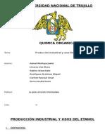 Producción Industrial y Usos Del Etanol (1)