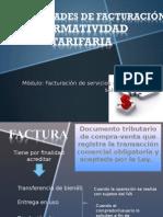 Generalidades de Facurciòn