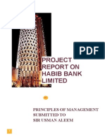 Project Report of Management