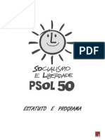 Estatuto e Programa Do PSOL (PDF)