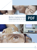 Better implementation of improvements in chronic care