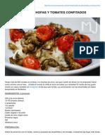 Lasrecetasdemj.com-risotto de Alcachofas y Tomates Confitados