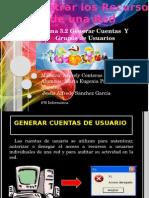 Generar Crear Cuentas Usuarios y Grupos