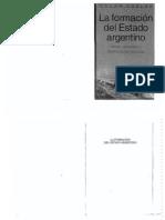 Oszlak Oscar - La Formacion Del Estado Argentino