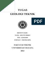 Tgs Geologi Teknik Peta Dan Pemetaan Geologi