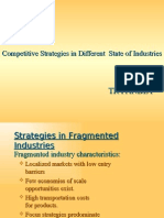 Competitive Strategies in Different Industries1