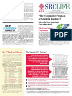 Cooperative Program Facts Brochure