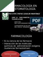 Farmacología en Estomatología