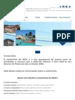 Documentos Necessários Comerciário Sesc ES