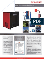 Refrigeration Dryer 250 m3/mmin