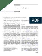 Enhanced Long‑Term Memory Encoding After Parietal