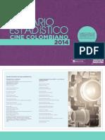 Anuario Estadístico Cine Colombiano 2014