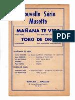 Juan Barceler & Jacky Noguez - Toro de Oro (Taureau d'or) (Orchestration Complète) (Paso Doble).pdf