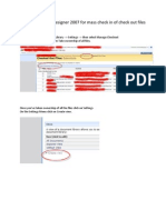 Using Share Point Designer 2007 for Mass Check in of Check Out Files