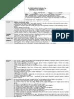 Planificacion Unidad 4 5º Basico