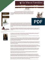 D&D 3.5 Druidas (No Manual)