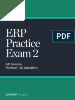 ERP Practice Exam2 7115
