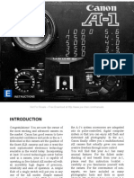 Manual Canon A1 Ingles