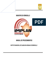 Manual Procedimientos IMPLAN