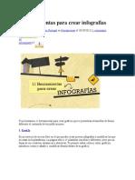 11 Herramientas Para Crear Infografías