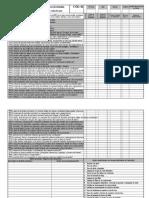 01 Check List - Colhedora Case Cana Picada