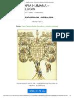Biografia Humana – Genealogia _ Biblioteca Virtual Da Antroposofia