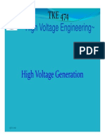 High Voltage Generation