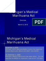 Michigan's Medical Marihuana Act