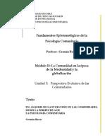 Rozas, G. 2010. Perspectiva Evolutiva de Las Comunidades Copia