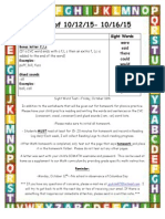 weekly newsletter 10-12 to 10-16 site