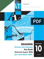 10th Grade FCAT Reading 2006