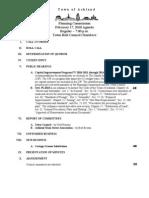 2/17/10 Planning Commission Agenda