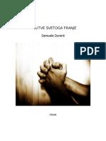 Knjiga_molitve Sv. Franje