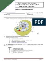 Teste 1_mod 1_Célula e imunitário.doc