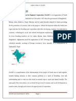 India's Role in SAARC
