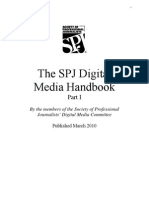 Society of Professional Journalists Digital Media Handbook, Part I