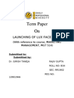 launching of a lux facewash