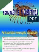 Hemoragiile in Obstetrica